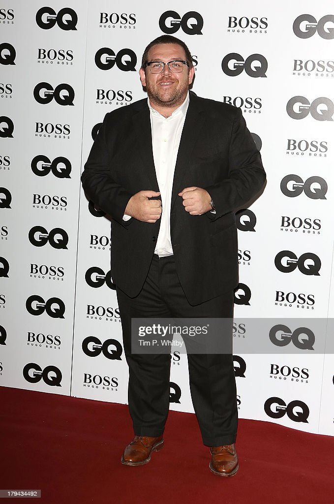 Nick Frost attends the GQ Men of the Year awards at The Royal Opera House on September 3, 2013 in London, England.