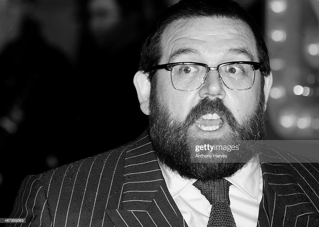 Nick Frost attends the World Premiere of 'Cuban Fury' at Vue Leicester Square on February 6, 2014 in London, England.