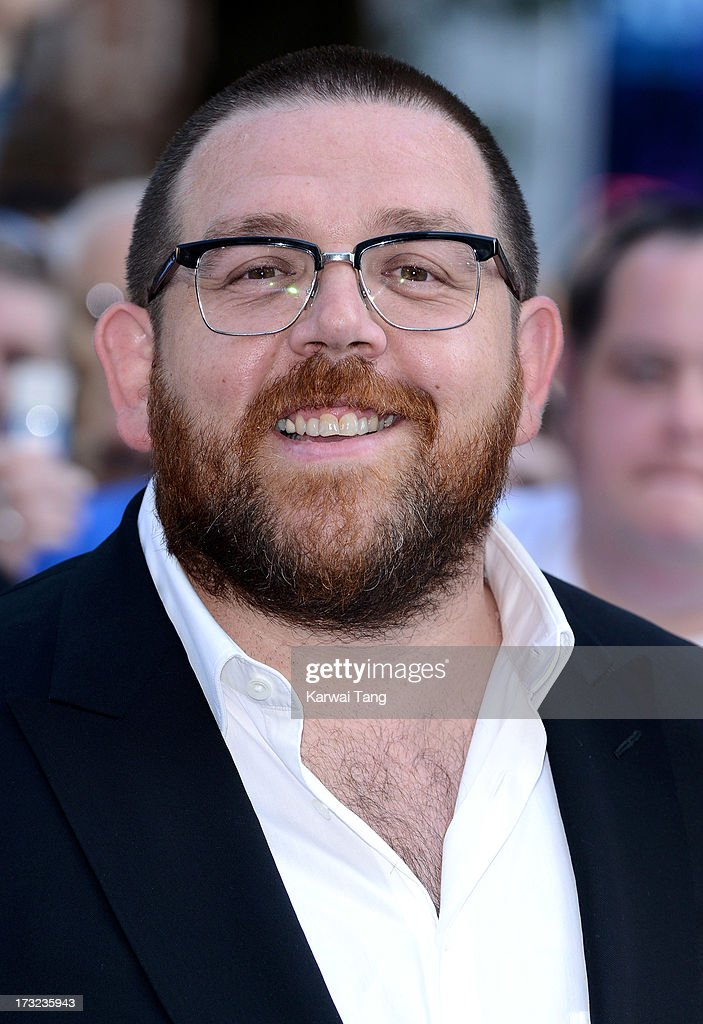 <a gi-track='captionPersonalityLinkClicked' href=/galleries/search?phrase=Nick+Frost+-+Acteur&family=editorial&specificpeople=240351 ng-click='$event.stopPropagation()'>Nick Frost</a> attends the World Premiere of 'The World's End' at Empire Leicester Square on July 10, 2013 in London, England.