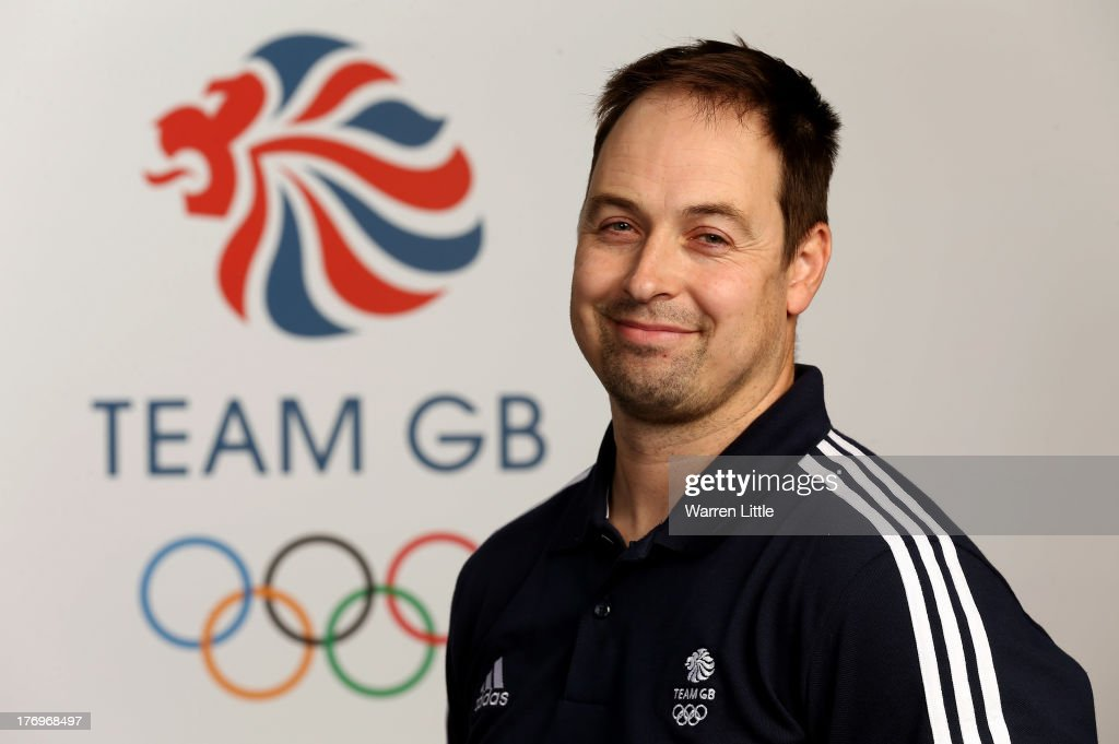 Nick Gooch, Coach of the British Winter Olympic Speed Skating Team poses for a portrait during the Team GB Winter Olympic Media Summit at Bath University on August 9, 2013 in Bath, England.