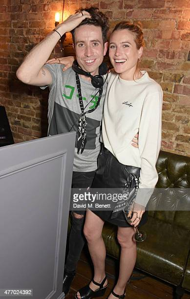 Nick Grimshaw and Dree Hemingway attends the COACH Men's Spring 2016 Party hosted by Stuart Vevers Tinie Tempah and Dree Hemingway at The Lady...