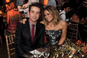 Nick Grimshaw and Kimberley Walsh attend the BBC Children in Need Gala hosted by Gary Barlow at The Grosvenor House Hotel on November 11 2013 in...