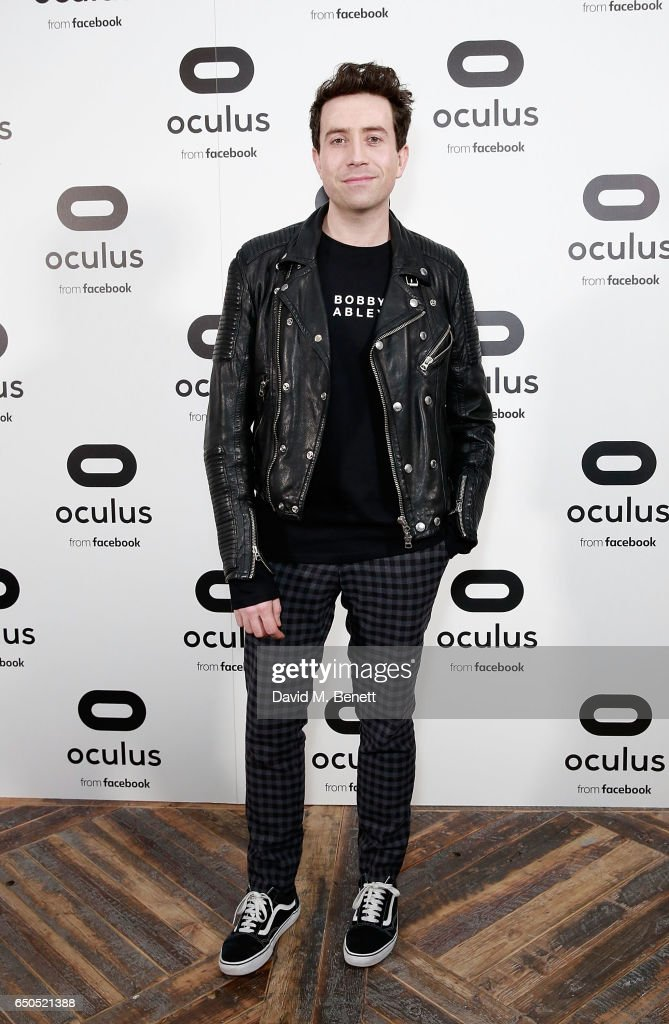 Nick Grimshaw at the Oculus Game Days VIP opening night, hosted by the Facebook owned virtual reality company Oculus, on March 9, 2017 in London, England.