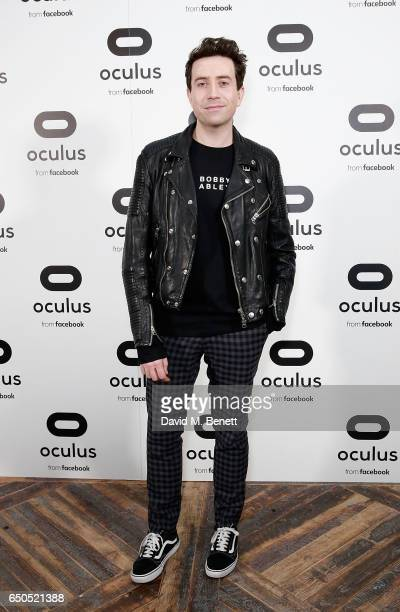 Nick Grimshaw at the Oculus Game Days VIP opening night hosted by the Facebook owned virtual reality company Oculus on March 9 2017 in London England