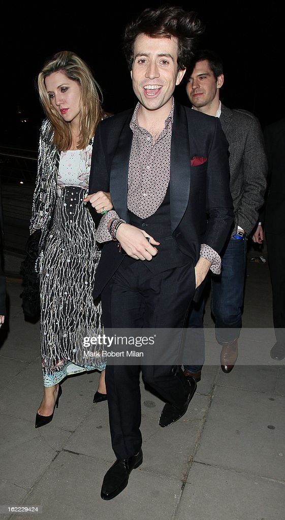 <a gi-track='captionPersonalityLinkClicked' href=/galleries/search?phrase=Nick+Grimshaw&family=editorial&specificpeople=4666727 ng-click='$event.stopPropagation()'>Nick Grimshaw</a> at the Warner Music in association with Vanity Fair BRITs aftershow party at The Savoy Hotel on February 20, 2013 in London, England.