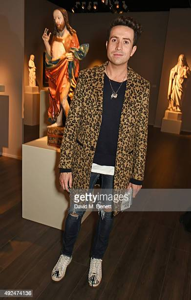 Nick Grimshaw attends a champagne reception hosted by the directors of Frieze to celebrate the opening of Frieze Masters 2015 in Regent's Park on...