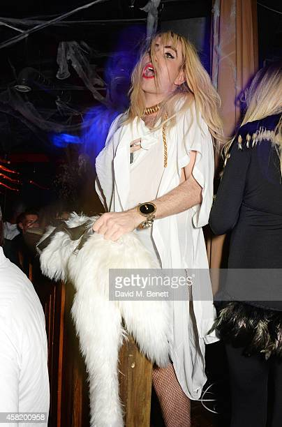 Nick Grimshaw attends 'Death Of A Geisha' hosted by Fran Cutler and Cafe KaiZen with Grey Goose on October 31 2014 in London England