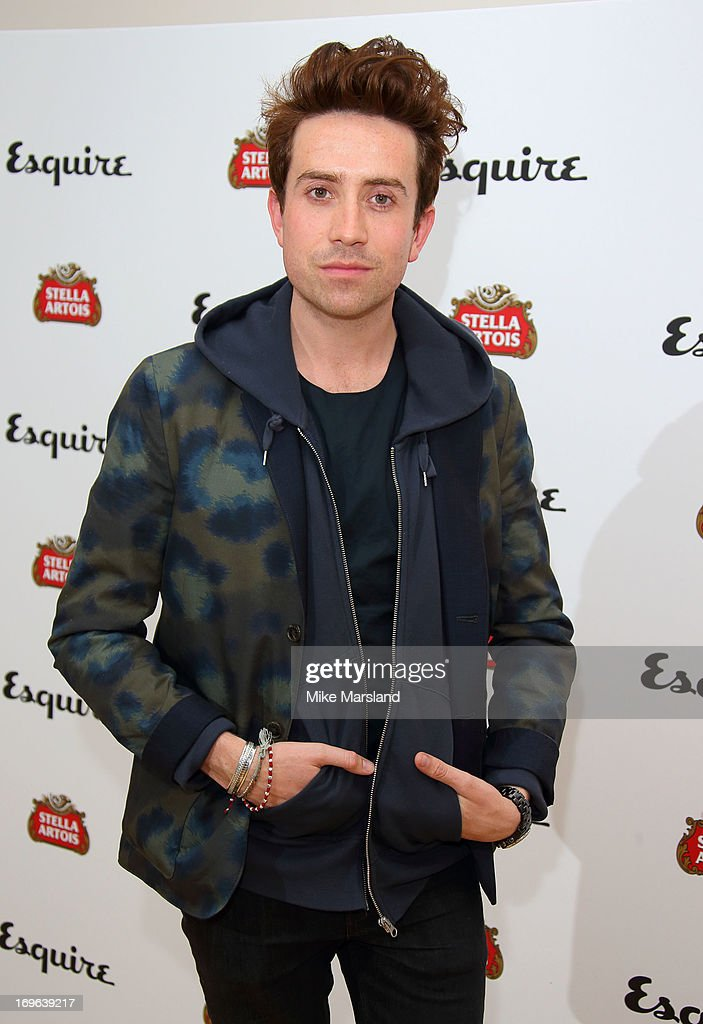 Nick Grimshaw attends Esquire magazine's summer party at Somerset House on May 29, 2013 in London, England.