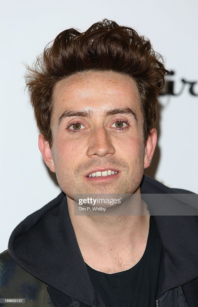 Nick Grimshaw attends Esquire's first summer party at Somerset House on May 29, 2013 in London, England.