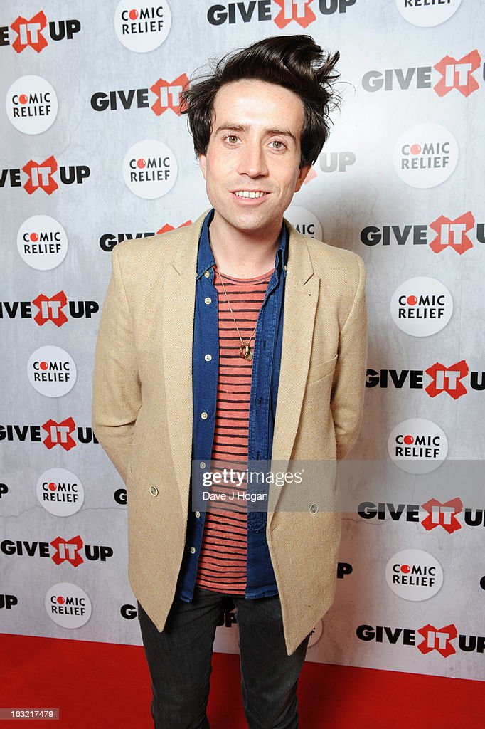 Nick Grimshaw attends 'Give It Up For Comic Relief' at Wembley Arena on March 6, 2013 in London, England.