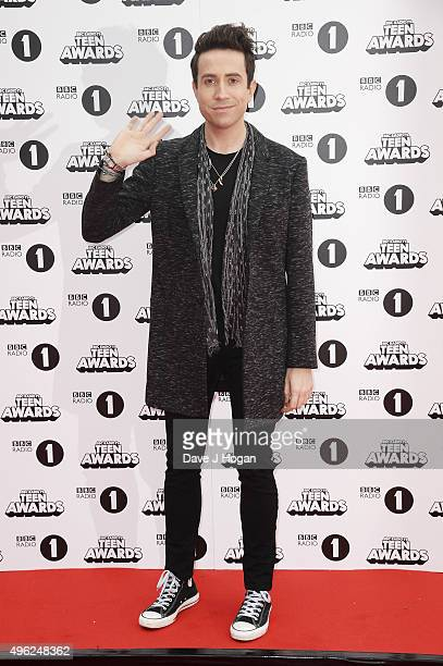 Nick Grimshaw attends the BBC Radio 1 Teen Awards at Wembley Arena on November 8 2015 in London England