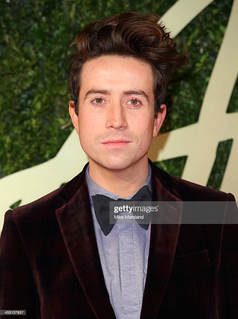 Nick Grimshaw attends the British Fashion Awards 2013 at London Coliseum on December 2, 2013 in London, England.