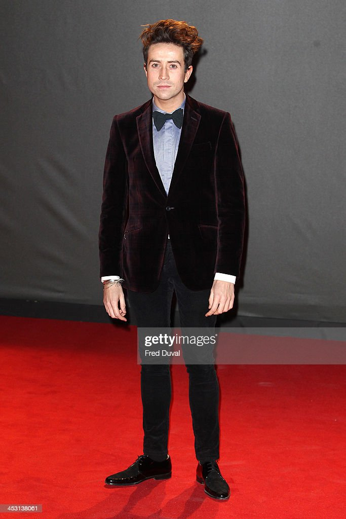 <a gi-track='captionPersonalityLinkClicked' href=/galleries/search?phrase=Nick+Grimshaw&family=editorial&specificpeople=4666727 ng-click='$event.stopPropagation()'>Nick Grimshaw</a> attends the British Fashion Awards 2013 at London Coliseum on December 2, 2013 in London, England.