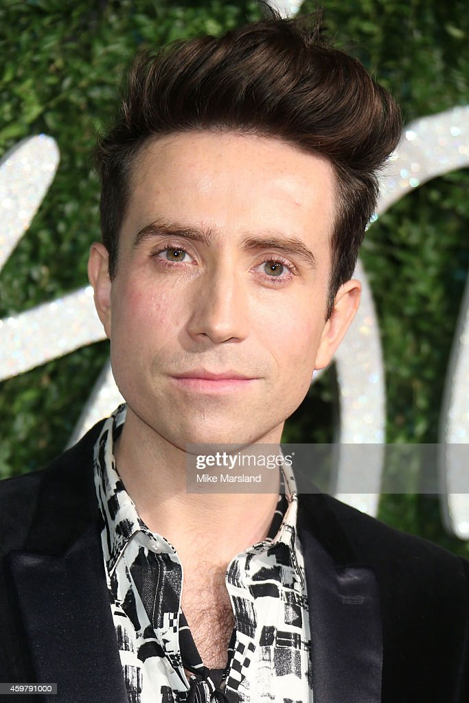 Nick Grimshaw attends the British Fashion Awards at London Coliseum on December 1, 2014 in London, England.