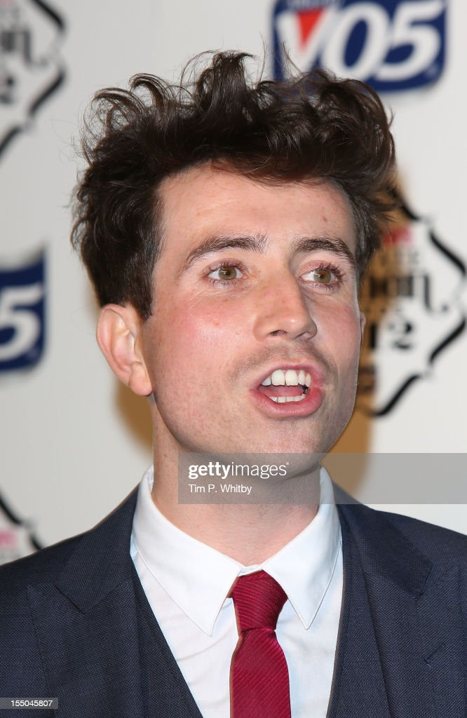 Nick Grimshaw attends the Cosmopolitan Ultimate Woman of the Year awards at Victoria & Albert Museum on October 30, 2012 in London, England.