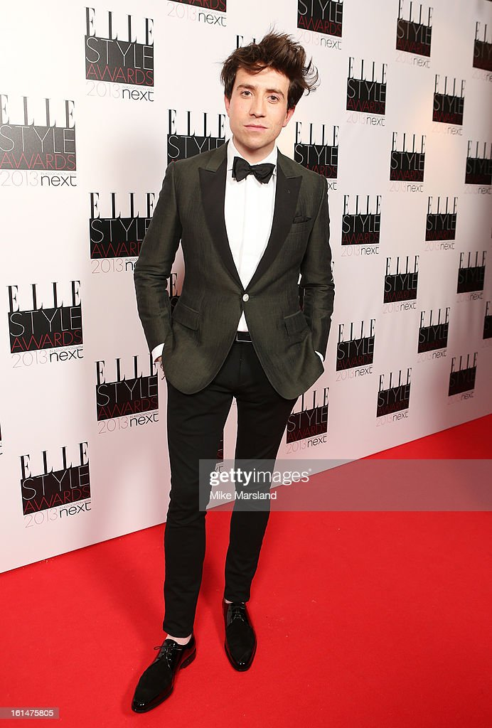 Nick Grimshaw attends the Elle Style Awards 2013 at The Savoy Hotel on February 11, 2013 in London, England.