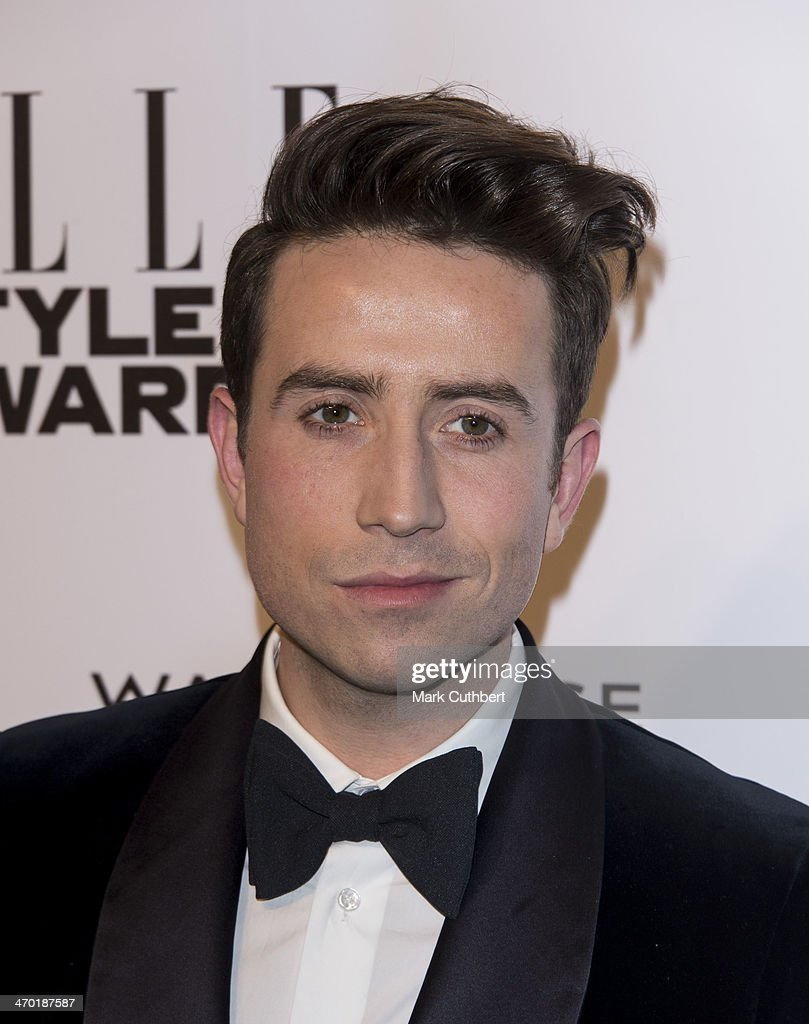 Nick Grimshaw attends the Elle Style Awards 2014 at one Embankment on February 18, 2014 in London, England.