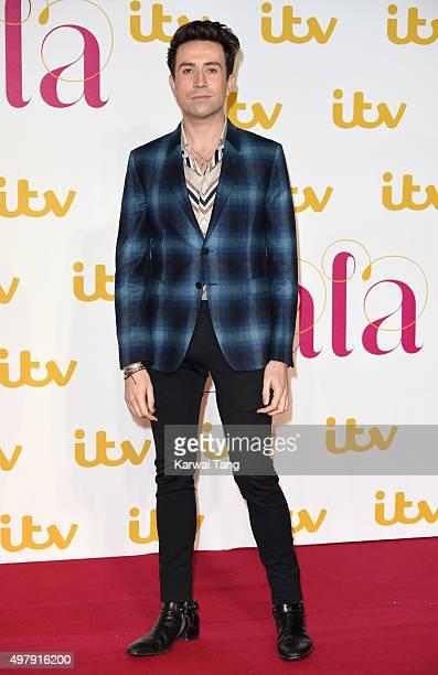 Nick Grimshaw attends the ITV Gala at London Palladium on November 19 2015 in London England