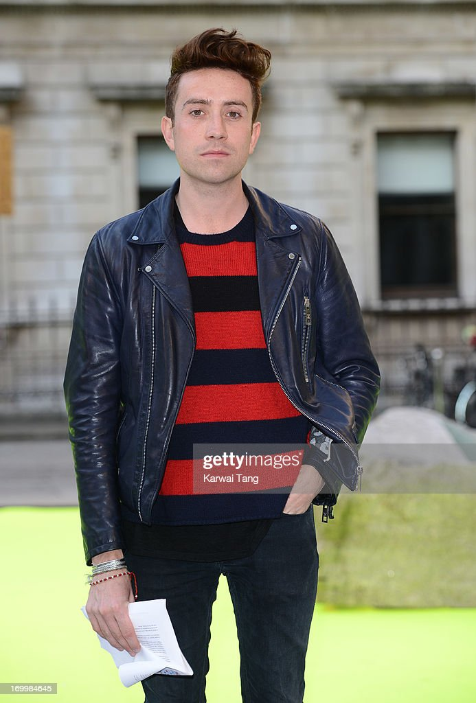 Nick Grimshaw attends the preview party for The Royal Academy Of Arts Summer Exhibition 2013 at Royal Academy of Arts on June 5, 2013 in London, England.