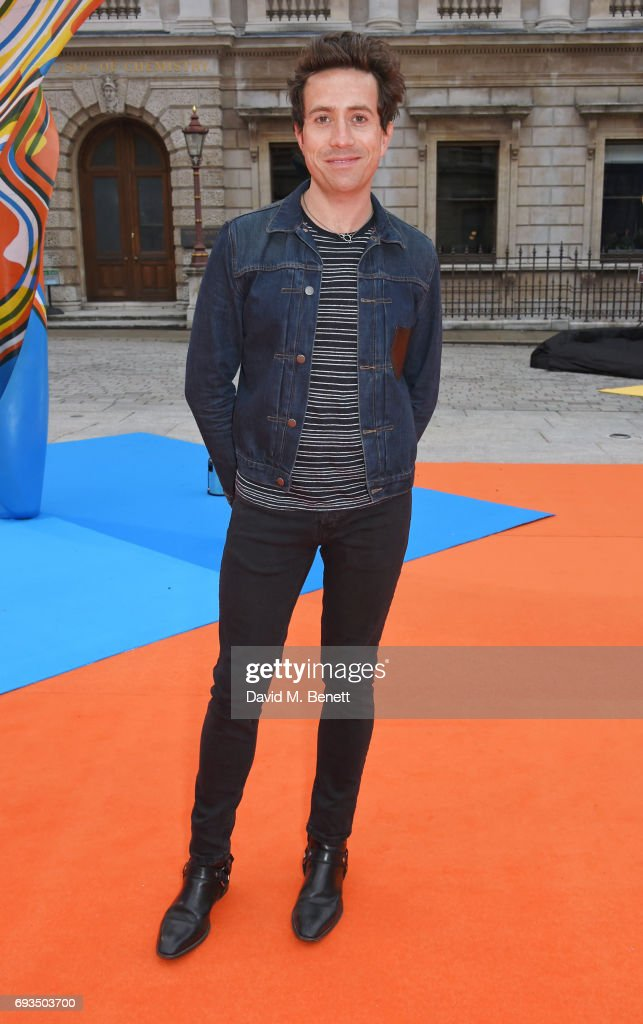 Nick Grimshaw attends the Royal Academy Of Arts Summer Exhibition preview party at Royal Academy of Arts on June 7, 2017 in London, England.