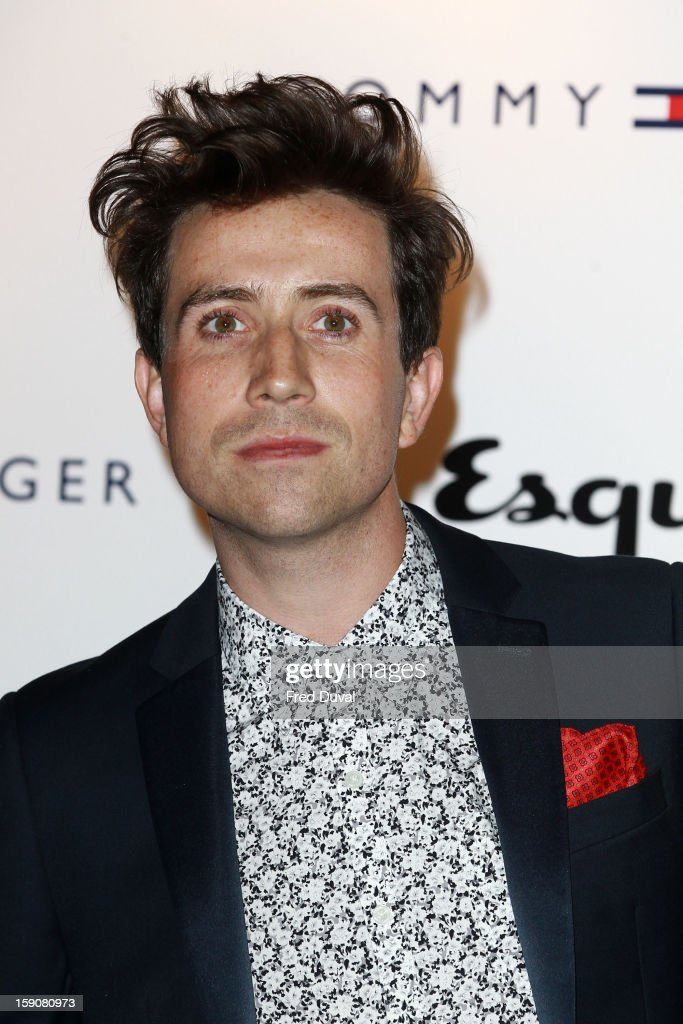 Nick Grimshaw attends the Tommy Hilfiger & Esquire event at the London Collections: MEN AW13 at on January 7, 2013 in London, England.