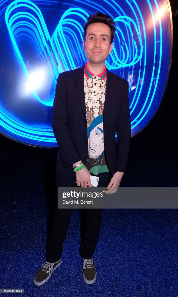 Nick Grimshaw attends The Warner Music & Ciroc Brit Awards After Party on February 22, 2017 in London, England.