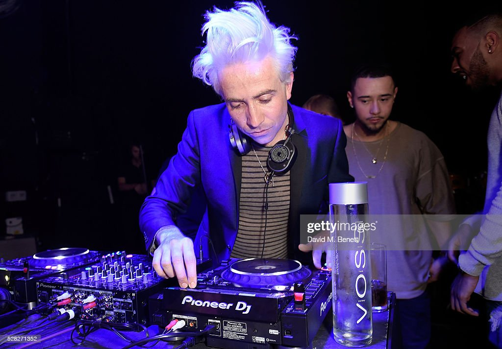 <a gi-track='captionPersonalityLinkClicked' href=/galleries/search?phrase=Nick+Grimshaw&family=editorial&specificpeople=4666727 ng-click='$event.stopPropagation()'>Nick Grimshaw</a> DJs at The London Cabaret Club launch party at The Bloomsbury Ballroom on May 4, 2016 in London, England.