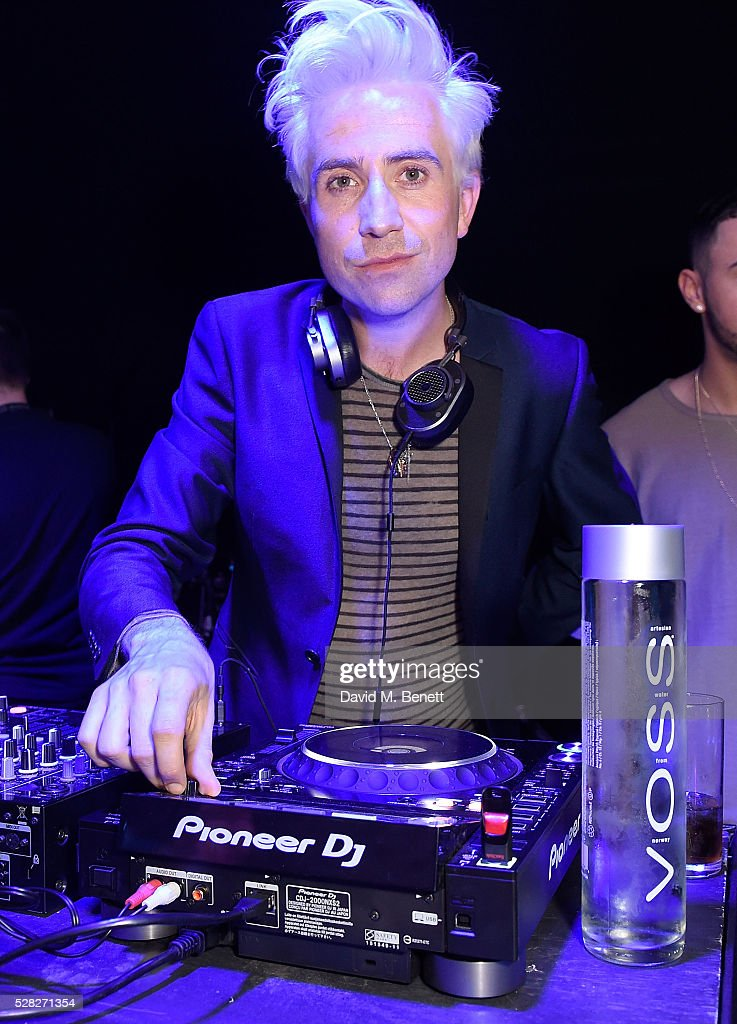 Nick Grimshaw DJs at The London Cabaret Club launch party at The Bloomsbury Ballroom on May 4 2016 in London England