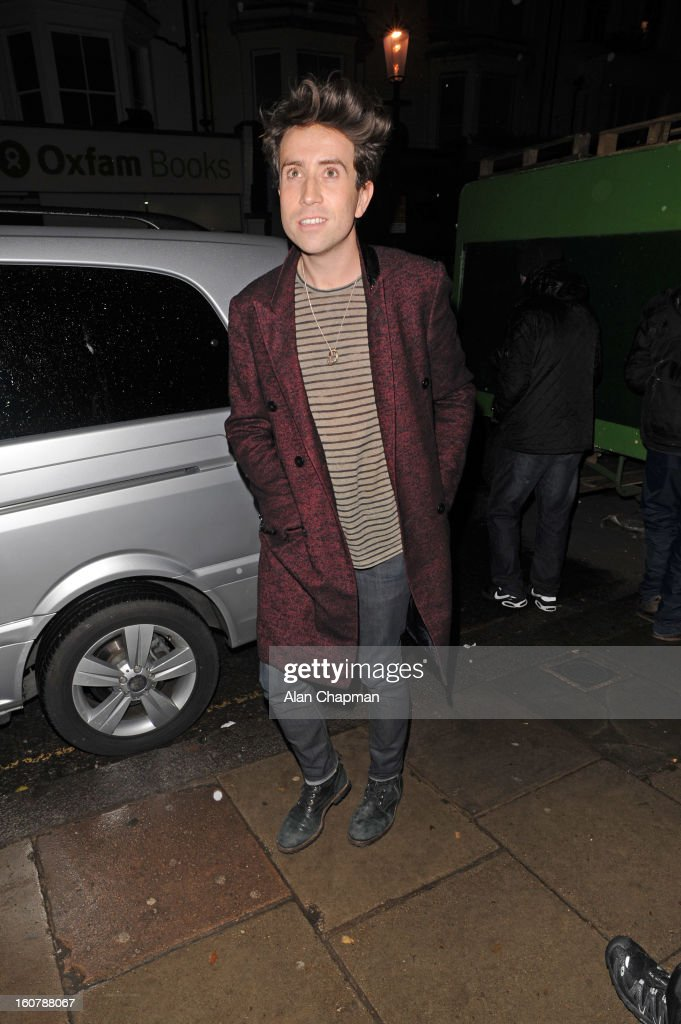 Nick Grimshaw sighting at the Electric Cinema on February 5, 2013 in London, England.