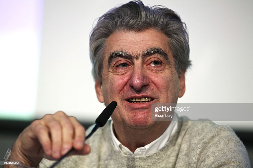 Nick Hayek, chief executive officer of Swatch AG, reacts during the company's annual results news conference in Grenchen, Switzerland, on Wednesday, March 6, 2013. Swatch Group AG, the biggest maker of Swiss timepieces, fell as much as 3.1 percent in Zurich trading after Hayek sought to downplay expectations over industry growth prospects. Photographer: Gianluca Colla/Bloomberg via Getty Images