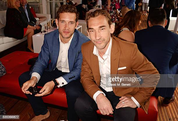 Nick Hendrix and Joseph Mawle attend day two of the Audi Polo Challenge at Coworth Park on May 29 2016 in London England