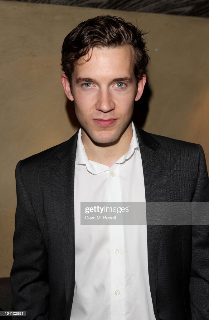 Nick Hendrix attends an after party following the press night performance of The Old Vic's 'The Winslow Boy' at Baltic Restaurant on March 19, 2013 in London, England.