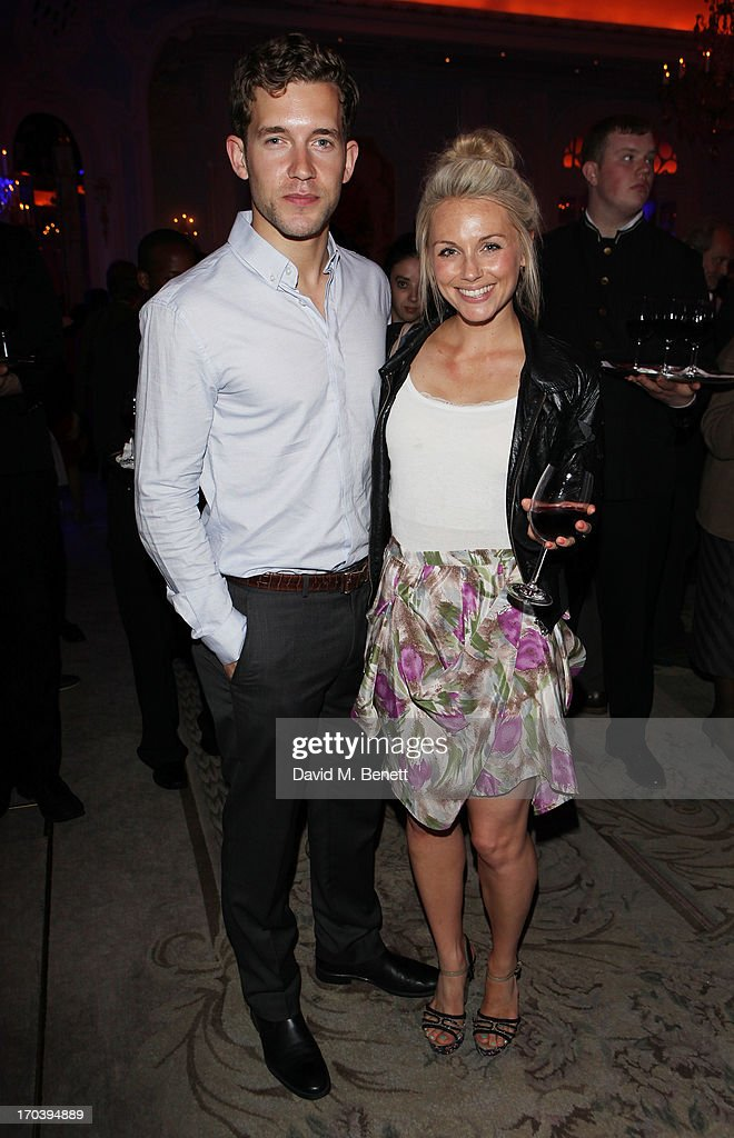 Nick Hendrix (L) attends an after party following the press night performance of The Old Vic's 'Sweet Bird of Youth' at The Savoy Hotel on June 12, 2013 in London, England.