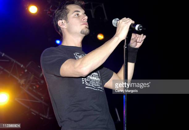 Nick Hexum of 311 during KRock ClausFest 2003 Day One at Hammerstein Ballroom in New York City New York United States