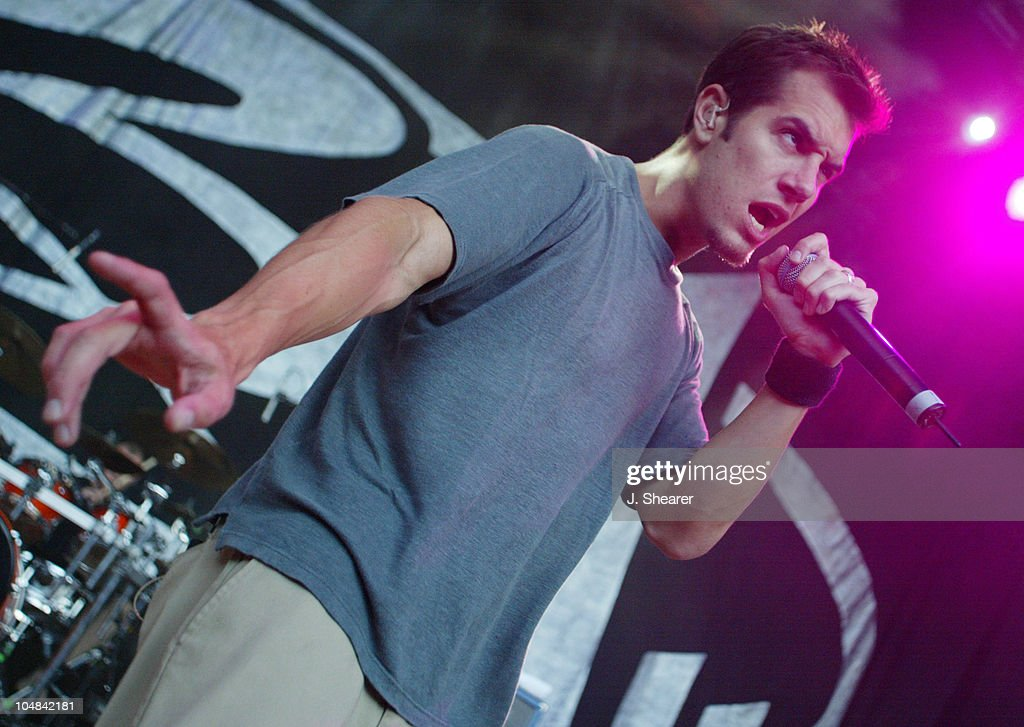 Nick Hexum of 311 in Concert during Sprite Liquid Mix Tour 2002 at Shoreline Amphitheatre in Mountain View, California, United States.
