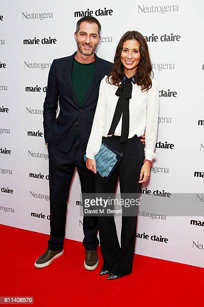 Nick Hopper and Jasmine Hemsley attend the Marie Claire Future Shapers Awards in association with Neutrogena at One Marylebone on September 29 2016...