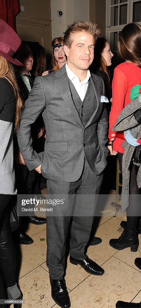 Nick House attends the Steam And Rye launch party on November 19, 2013 in London, United Kingdom.