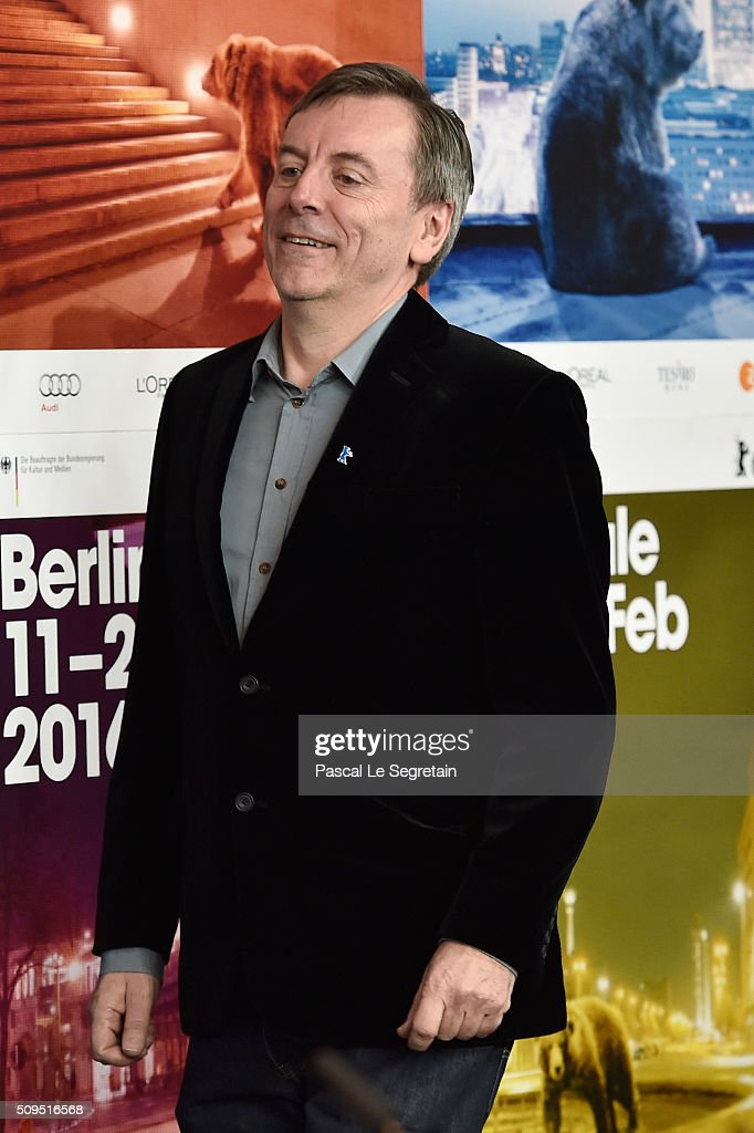Nick James attends the International Jury press conference during the 66th Berlinale International Film Festival Berlin at Grand Hyatt Hotel on February 11, 2016 in Berlin, Germany.