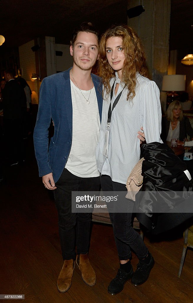 Nick Johnson and Daisy Bevan at the newly opened hotel The Hoxton Holborn launching with an immersive theatre play The Backstage Tour written by Amy...