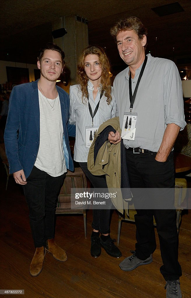 Nick Johnson Daisy and Tim Bevan at the newly opened hotel The Hoxton Holborn launching with an immersive theatre play The Backstage Tour written by...