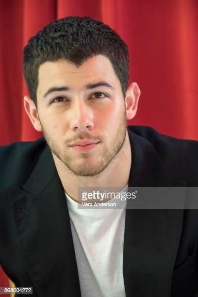 Nick Jonas at the 'Ferdinand' press conference at Twentieth Century Fox Studio on October 28 2017 in Century City California