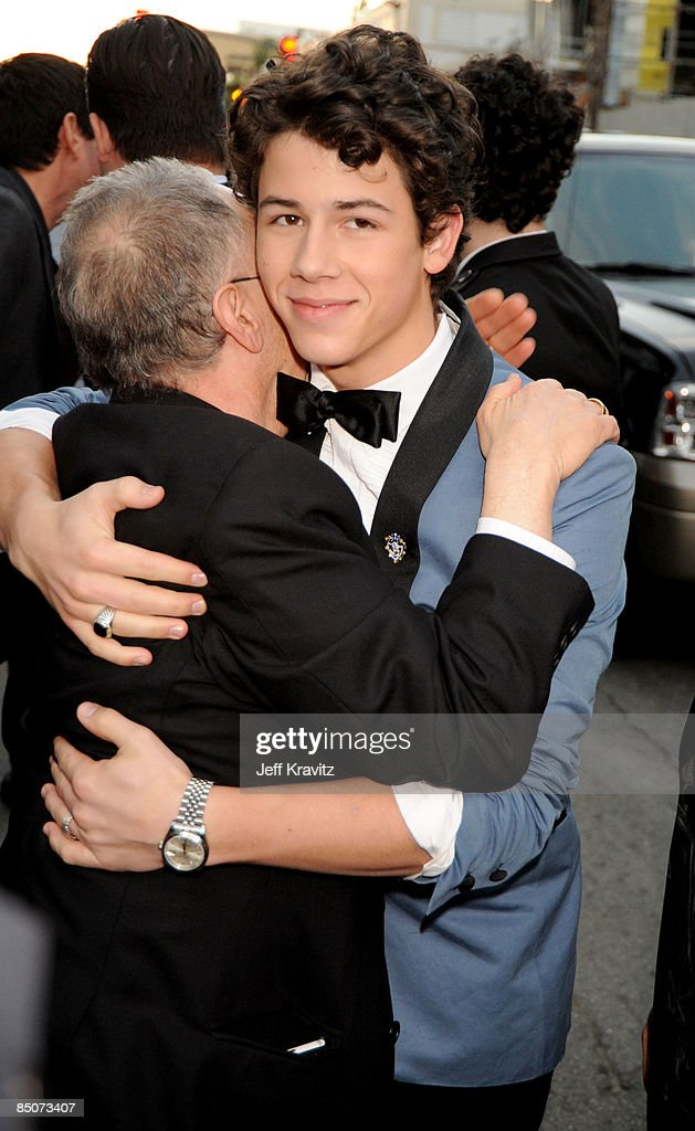 <a gi-track='captionPersonalityLinkClicked' href=/galleries/search?phrase=Nick+Jonas&family=editorial&specificpeople=842713 ng-click='$event.stopPropagation()'>Nick Jonas</a> at the 'Jonas Brothers: 3D Concert Experience' Premiere at El Capitan Theatre on February 24, 2009 in Hollywood.