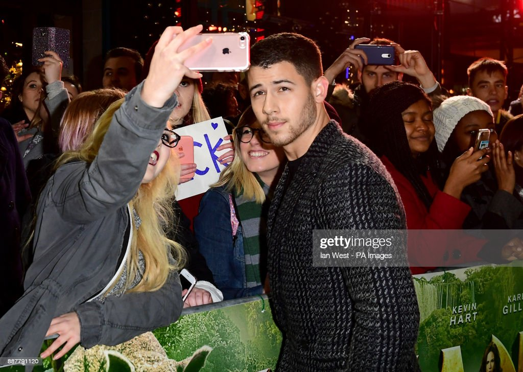 Welcome to the Jungle Premiere held at The Vue West End in Leicester Square, London.