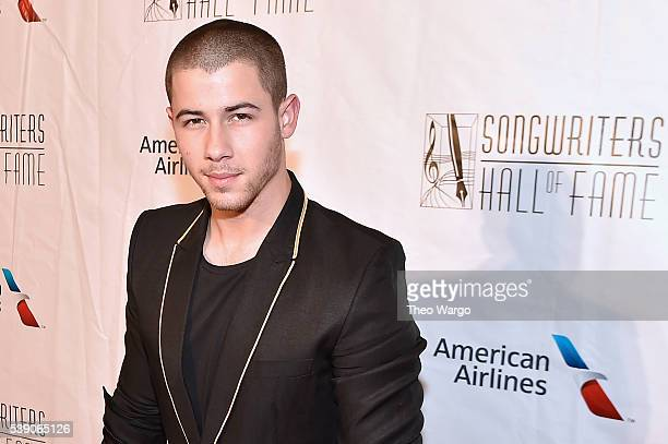 Nick Jonas attends Songwriters Hall Of Fame 47th Annual Induction And Awards at Marriott Marquis Hotel on June 9 2016 in New York City