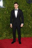 Nick Jonas attends the 2015 Tony Awards at Radio City Music Hall on June 7 2015 in New York City