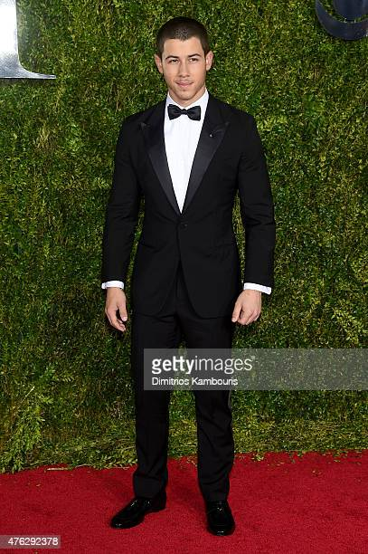 Nick Jonas attends the 2015 Tony Awards at Radio City Music Hall on June 7 2015 in New York City