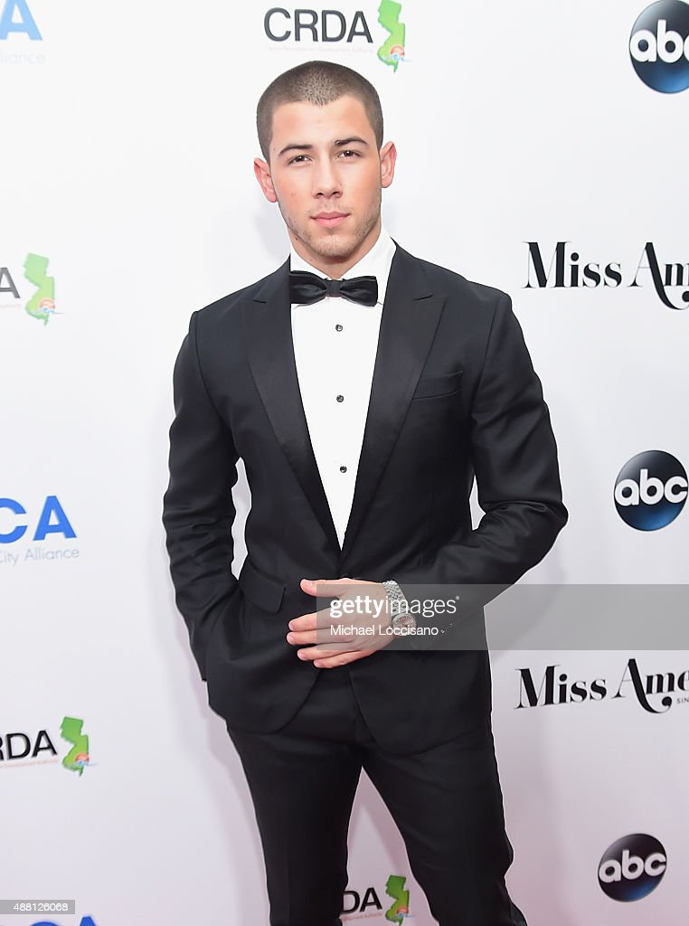 <a gi-track='captionPersonalityLinkClicked' href=/galleries/search?phrase=Nick+Jonas&family=editorial&specificpeople=842713 ng-click='$event.stopPropagation()'>Nick Jonas</a> attends the 2016 Miss America Competition at Boardwalk Hall Arena on September 13, 2015 in Atlantic City, New Jersey.