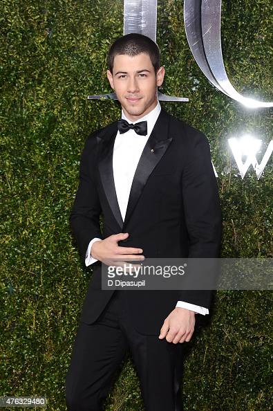 Nick Jonas attends the American Theatre Wing's 69th Annual Tony Awards at Radio City Music Hall on June 7 2015 in New York City