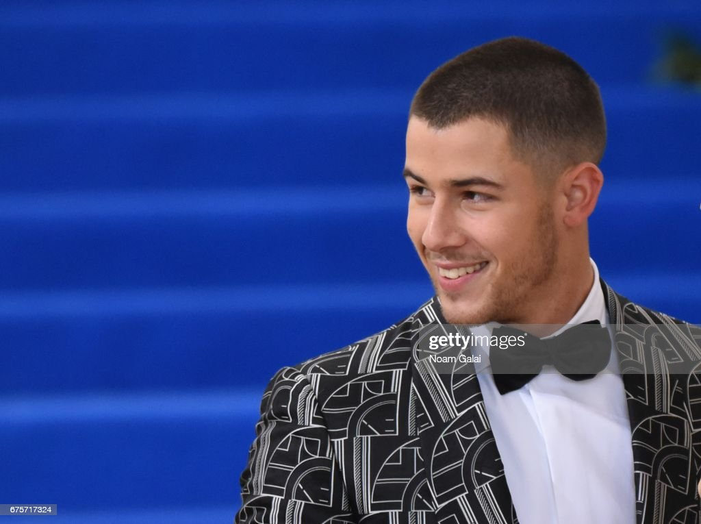Nick Jonas attends the 'Rei Kawakubo/Comme des Garcons: Art Of The In-Between' Costume Institute Gala at Metropolitan Museum of Art on May 1, 2017 in New York City.