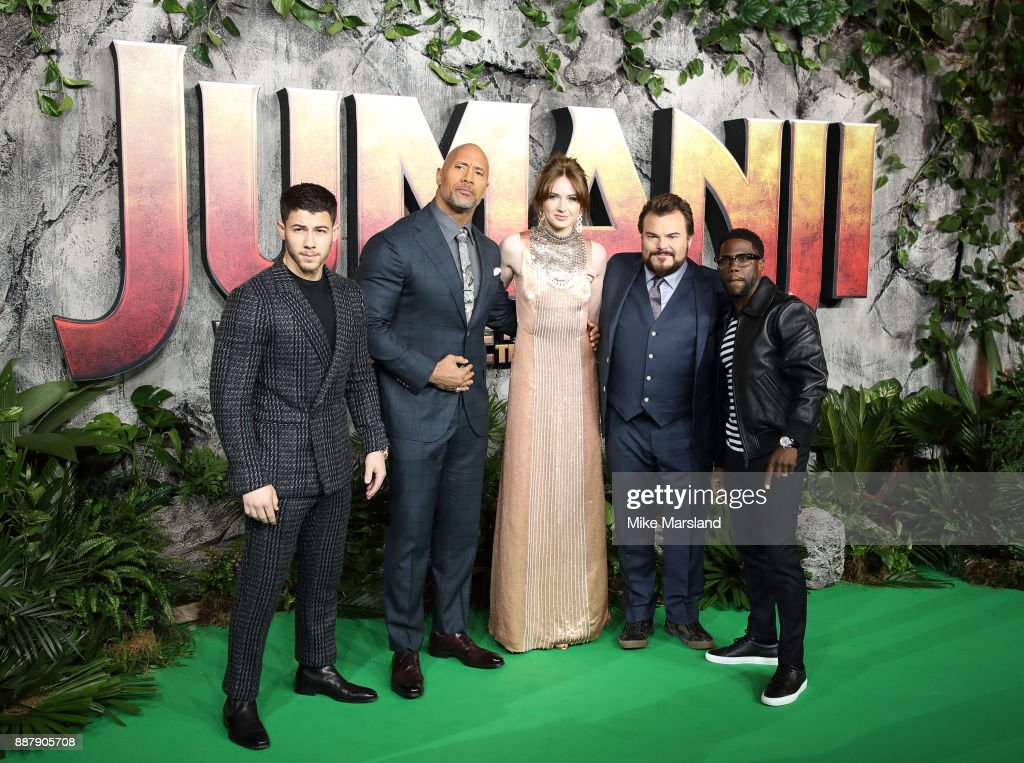 """Jumanji: Welcome to the Jungle"" premieres in London"